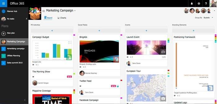 Qué novedades aporta Microsoft Planner