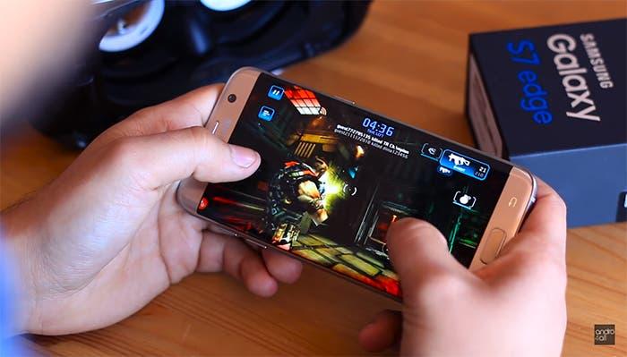 Samsung Galaxy S7 edge juego