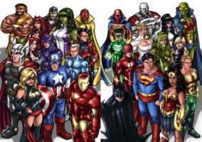 Superhéroes-Cómic