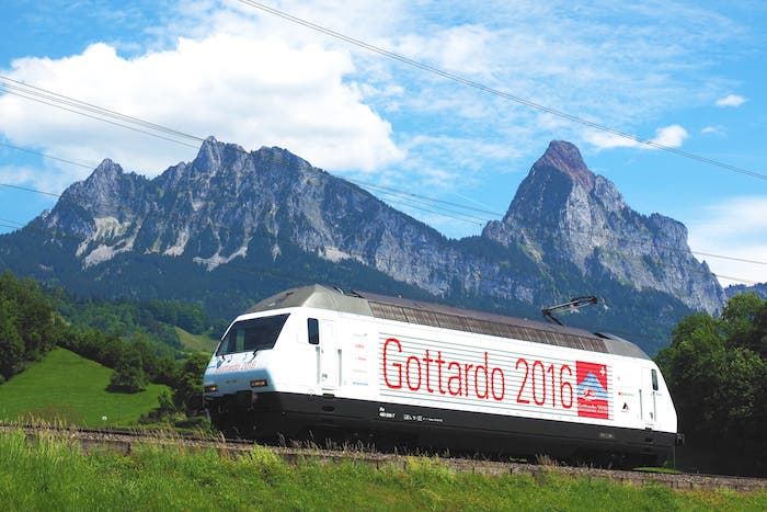 tunel Gotthard 2016