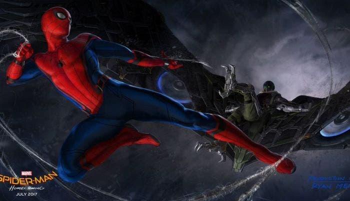Spiderman vs Buitre nuevo aspecto