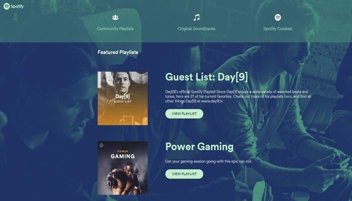 Playlist-Spotify-Gamers