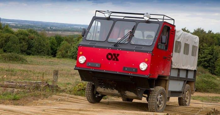 OX: el camión desmontable para países en vías de desarrollo