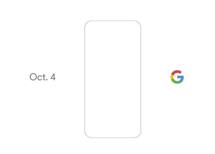 Google revelará sus nuevos terminales el próximo 4 de octubre