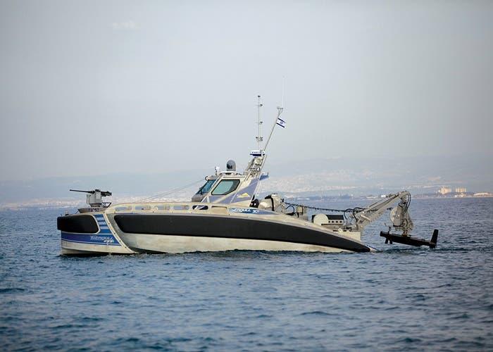 Seagull, el barco autónomo que está armado