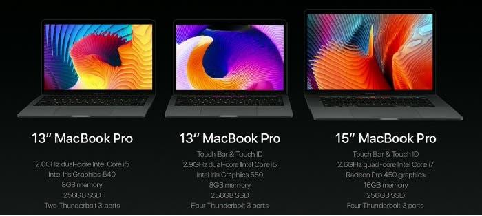 Conoce los nuevos MacBook Pro 2016
