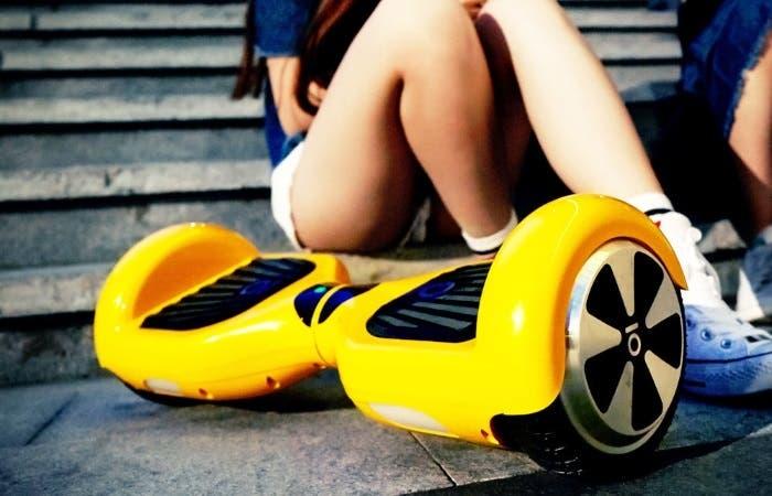hoverboard amarillo