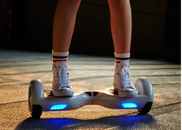 Hoverboard luces