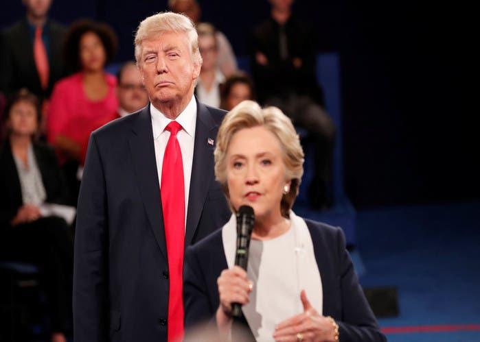 Trump-Clinton-EEUU