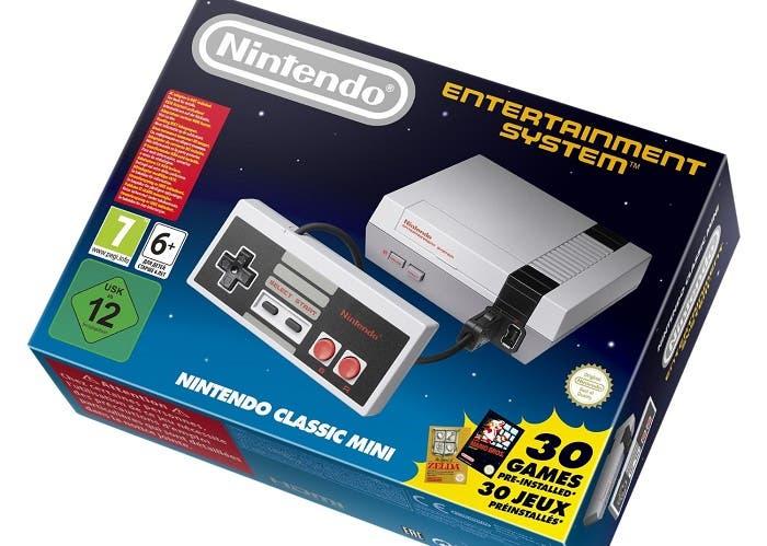 La Nintendo NES Mini multiplica su precio en cuestión de horas