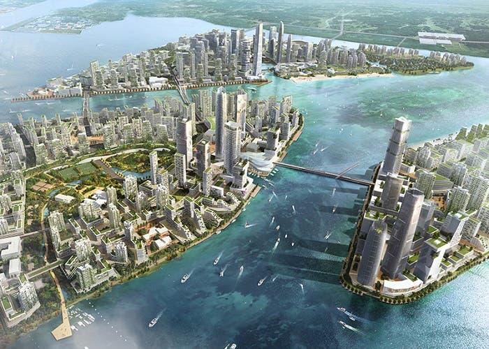 ¿Está China construyendo una ciudad fantasma en Malasia?