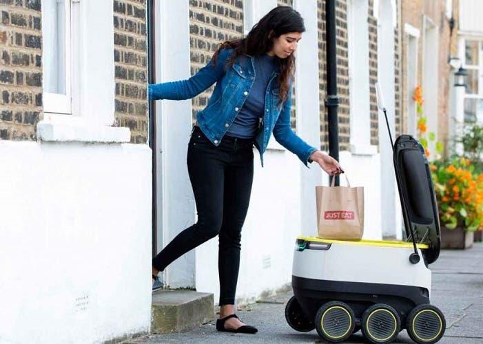 La revolución de los robots de reparto