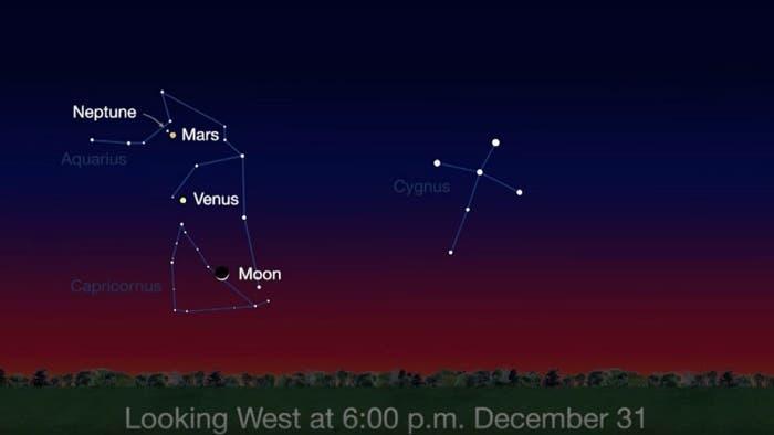 Un cometa pasará muy cerca de la Tierra para Nochevieja
