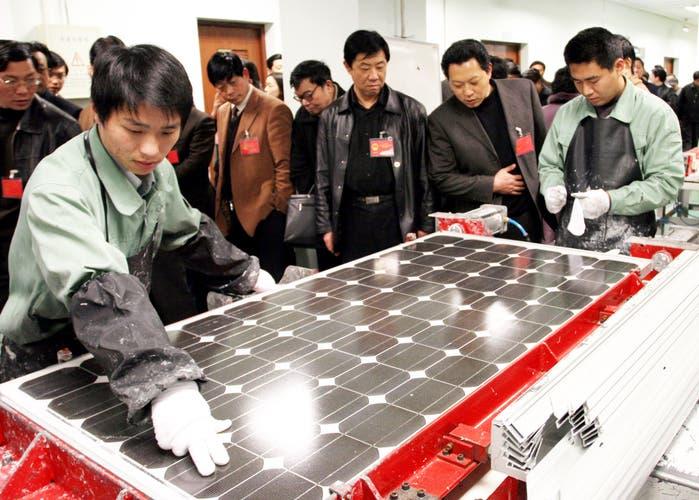 China-mayor generador de energia solar