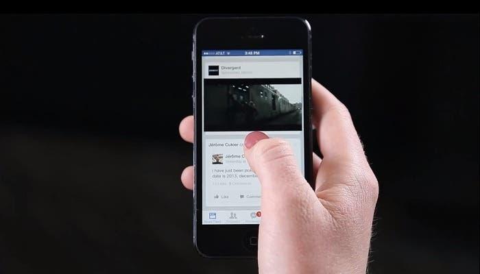 Facebook reproducción de audio en videos