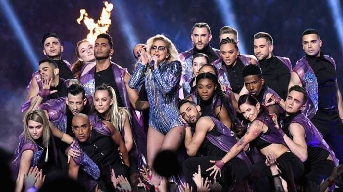 LadyGaga en Super Bowl