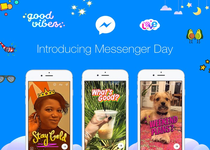 Messenger-Day-Portada