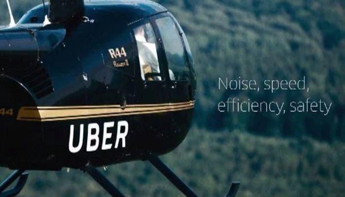 Helicóptero-Uber