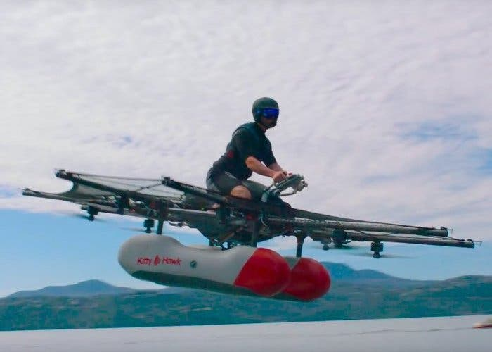 Kitty Hawk es el auto volador financiado por el creador de Google