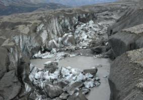 El cambio climático hace desaparecer un río en apenas 4 días en el norte de Canadá