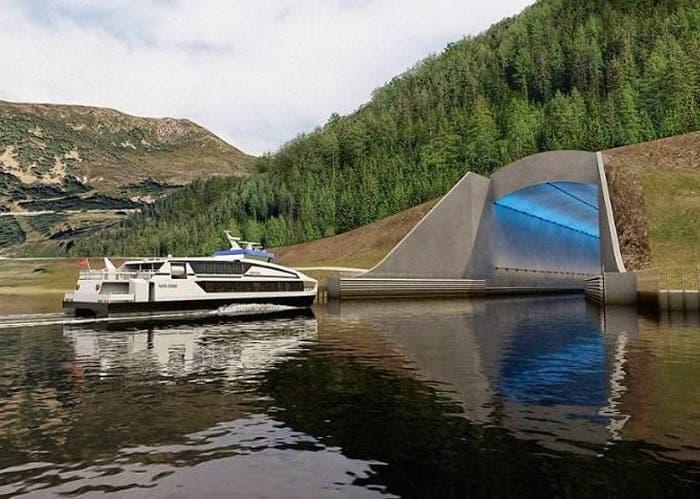 Noruega construirá el primer túnel marítimo del mundo para grandes buques