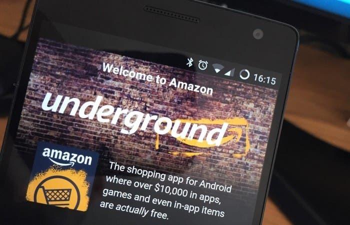 Amazon Undergound App