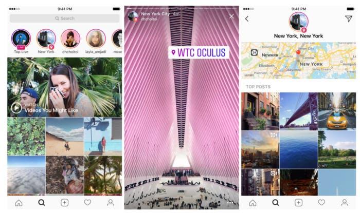 Instagram Localizaciones
