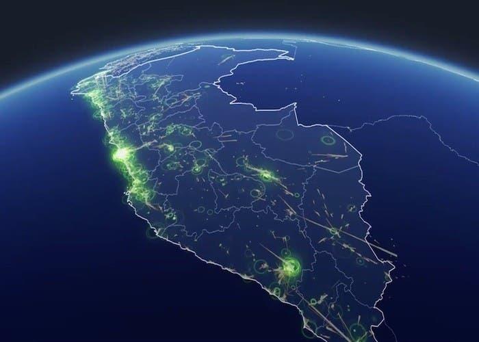 Captura de mapas de desastres de Facebook