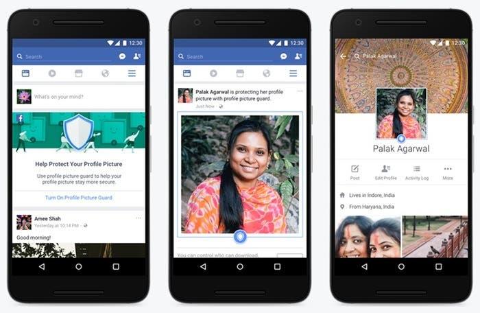 Facebook quiere que las fotos de perfil sean mas seguras