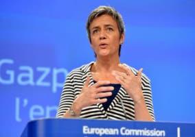 Margrethe Vestager en la Comisión Europea