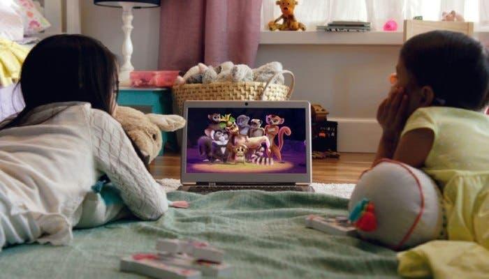 Público infantil de Netflix