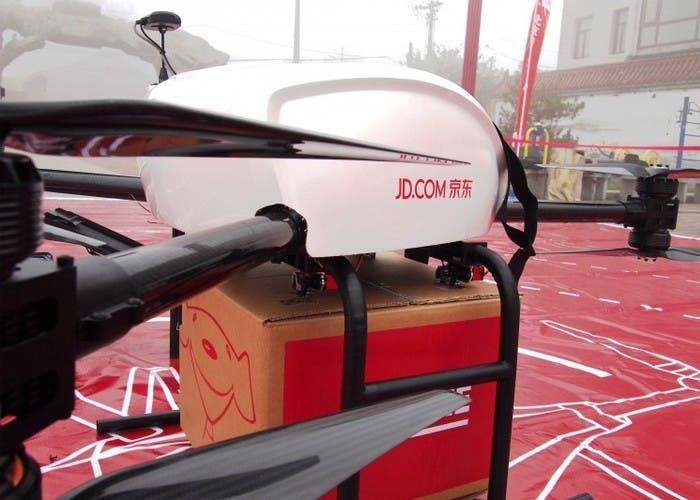 jd.com se adelante a amazon en el envio de paquetes mediante drones