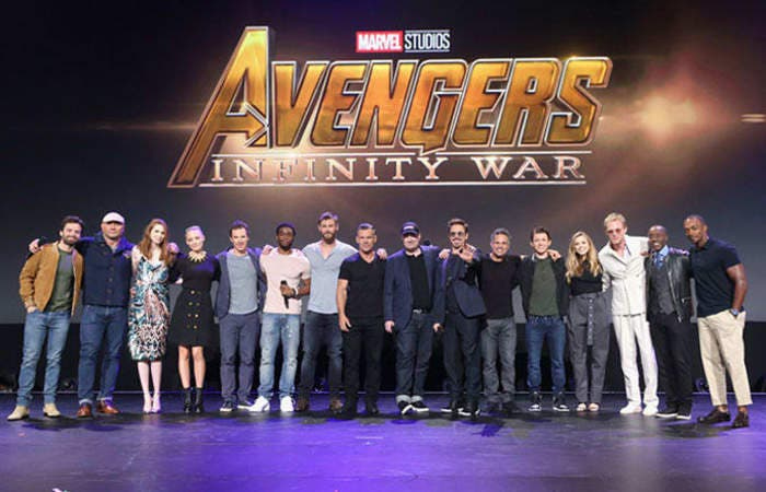 Elenco de 'Infinity War'