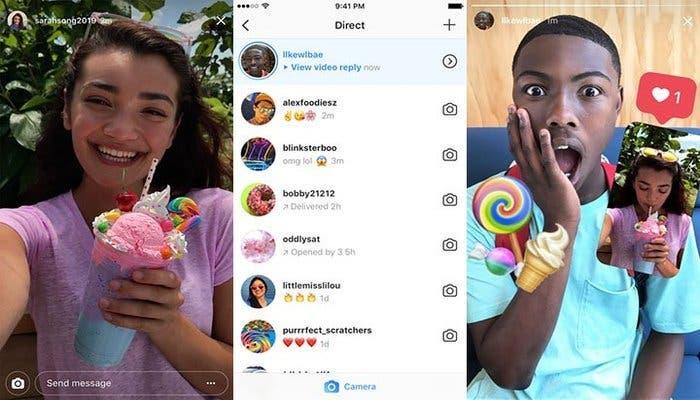 Respuestas de Instagram Stories