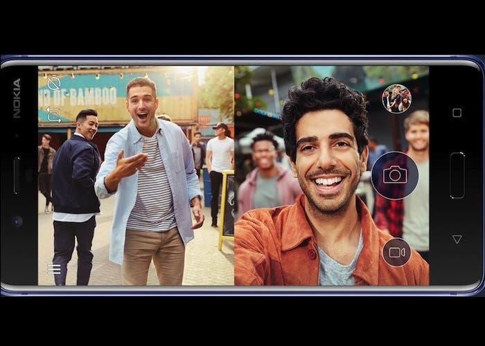 Nokia 8 camaras