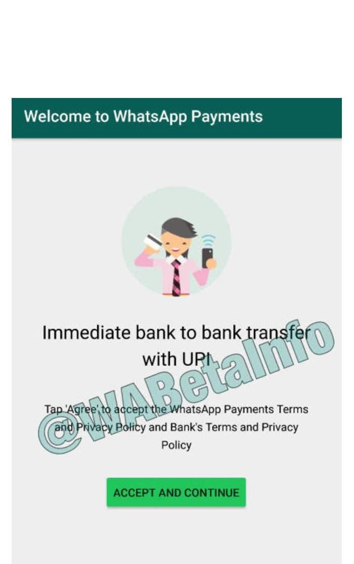 WhatsApp permite enviar y recibir dinero
