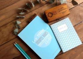 cuadernos con frases motivadoras