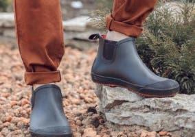 Botas de hombre para la lluvia