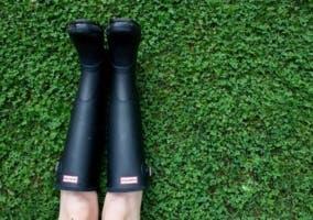 Botas para lluvia de mujer