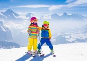 Cascos de esquí para niños