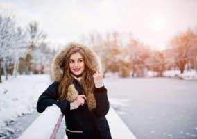 Parka de mujer para invierno