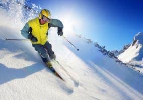 cascos de esquí para hombre