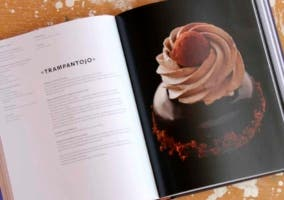 Libros de recetas con chocolate