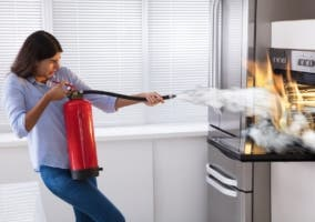 Extintor para casa