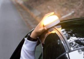 Luces de emergencia de coche