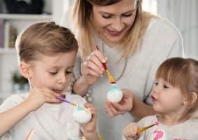 Huevos para decorar y pintar