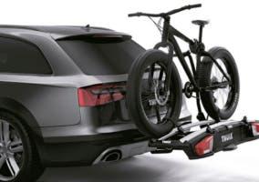Soporte de bicicleta para coche.