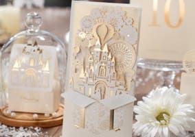 Tarjeta de invitación a boda