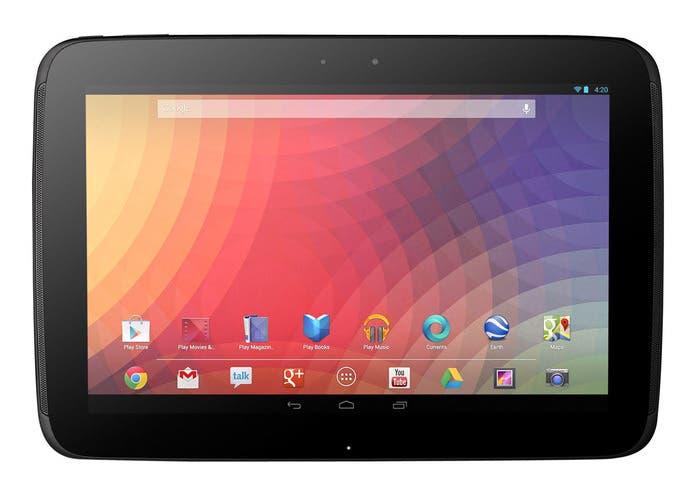 Imagen de la tablet Google Nexus 10