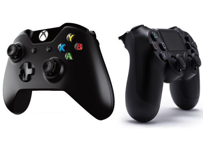 Mandos de PlayStation 4 y Xbox One